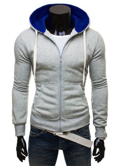 21c5a4b2543 Sportovnější outfit snese i větší dávku fantazie při volbě barev a potisků.  Kompromisem jsou pak jednobarevné mikiny s kontrastní barvou vnitřku kapuce  a ...