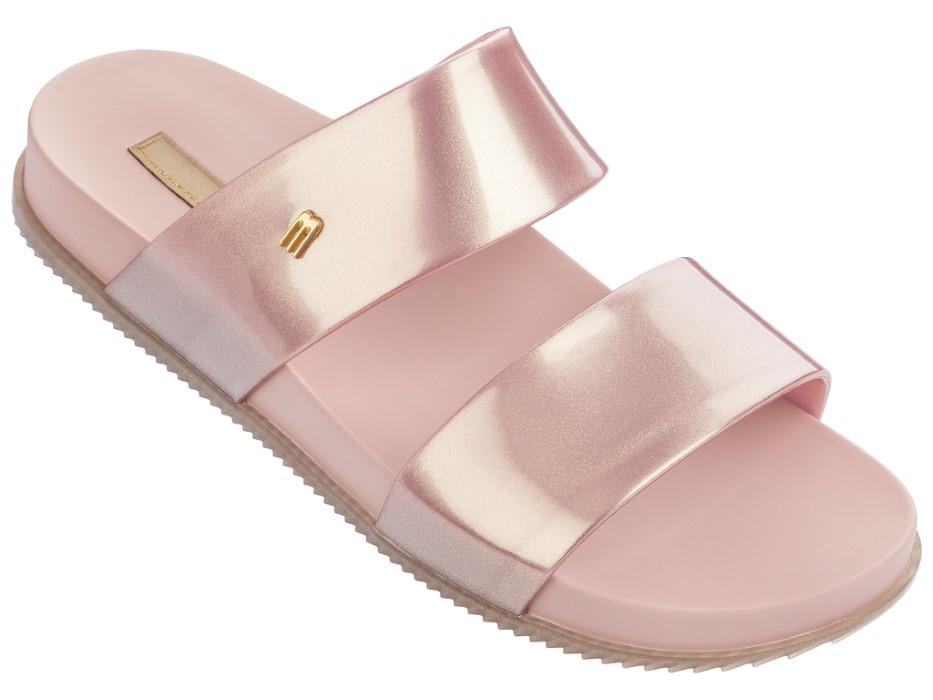 Růžové pantofle Melissa