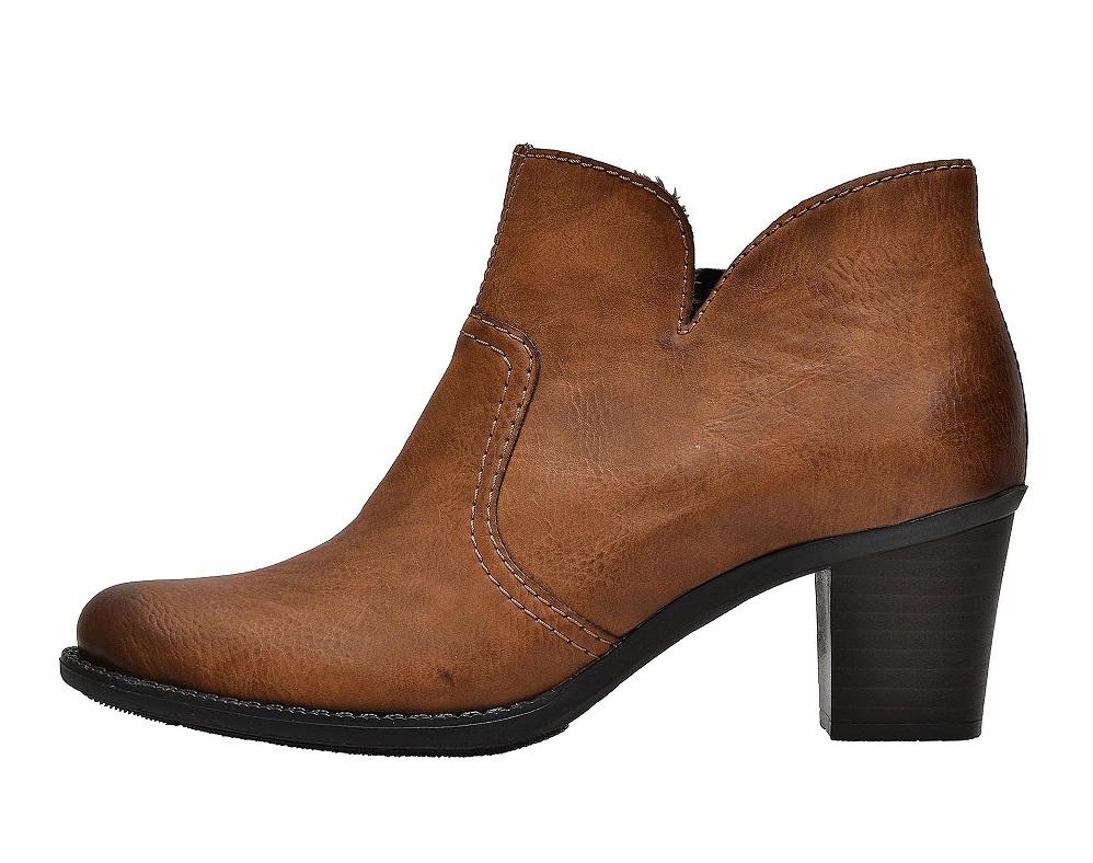 ff88a2ddfd39 Ten nabízí třeba dámské boty Rieker L7688 22 vhodné k sukni i kalhotám.  Jsou zateplené