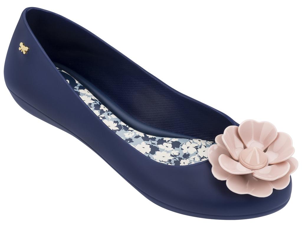 Modré baleríny Zaxy